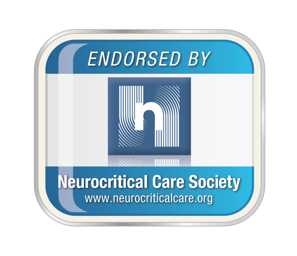 This event is endorsed by the Neurocritical Care Society