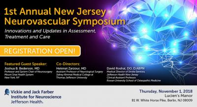 1st Annual New Jersey Neurovascular Symposium