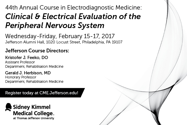 44th Annual Course in Electrodiagnostic Medicine Postcard